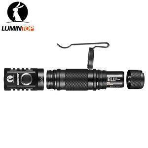 Image 3 - لومينتوب EDC05 مصباح يدوي 800 لومينز كري XP L Led مصباح يدوي صغير مع قوة الذيل المغناطيسي بواسطة AA/14500 بطارية IP68 حماية