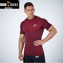 2017  brand clothing gyms tight t-shirt mens fitness t-shirts homme 3d t shirt men crossfit Summer top tees shirts