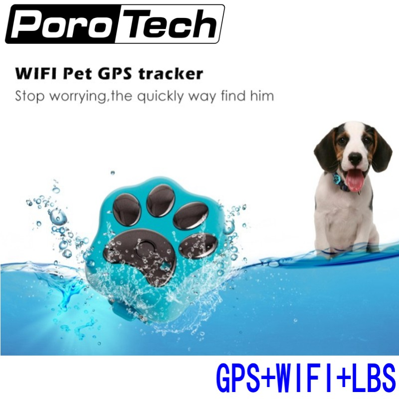 5pcs V30 Wifi Pets GPS Tracker Dog Cat Anti Theft GSM GPRS APP phone Real Time Tracking Alarm Monitor Device Global GPS Location gsm gprs gps car motorcycle anti theft satellite locator red black