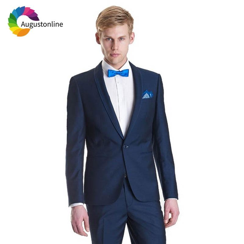 1 Men Suits Wedding Suits Costumes Mariage Homme Men\`s Wedding Suits Terno Masculino Costume Homme Mariage Men Suit with Pants Best Man Blazer Masculino Men\`s Suits Slim Fit Custom Made men suits (26)