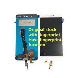 """Image 4 - Originele Axisinternational 5.15 """"Voor Xiaomi 5S Mi5S M5S Met Vingerafdruk Lcd scherm Met Frame + Touch Panel digitizer"""