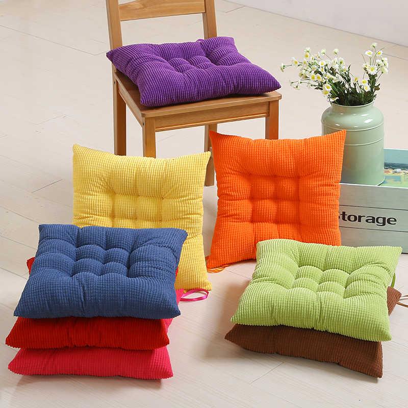 2016 nouveau velours côtelé siège coussin canapé et chaise dos coussin voiture tapis étudiant oreiller jouet bureau chaise dos coussin livraison gratuite