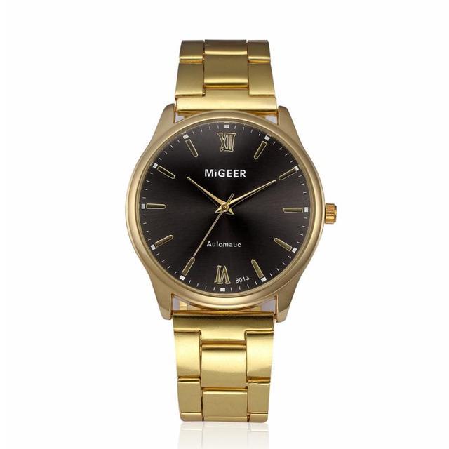 Кварцевые наручные часы Montre Homme модные Элитная одежда Мужские часы Нержавеющаясталь кристалл наручные часы 17dec22