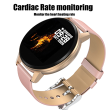 Smart Bracelet N58 1.22 Inch Round Touch Screen Fitness Watch Music Player With Heart Rate Monitoring Blood Pressure Detection