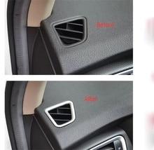 Abaiwai Auto-Styling Per Suzuki Sx4 S-Cross di Crossover 2014 2015 2016 Lato interno Anteriore Up Aria Condizionata Air Vent Coperchio di Uscita Trim