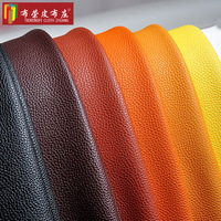 QX8502 Embossed Synthetic Leather Fabric PU Soft Cloth Sofa Backdrop DIY Handmade Leather Car
