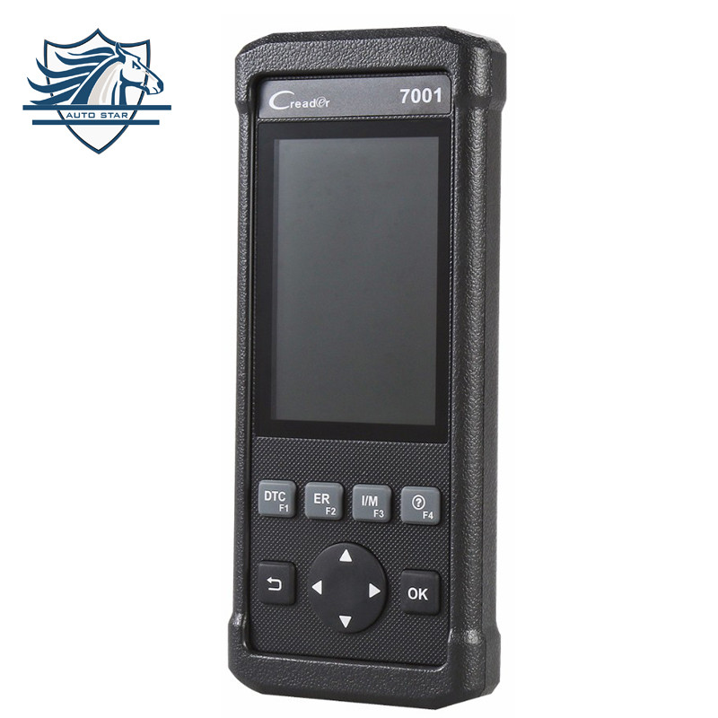 Launch CReader CR7001 Code Reader OBDII/EOBD OBD2 Diagnostic Scan Tool with Oil Resets, EPB, BMS, SAS, DPF Reset,ABS Bleeding