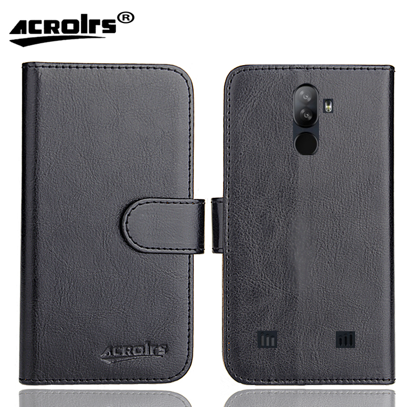 Doogee S40 Case 6 Colors Dedicated Leather Exclusive Special Crazy Horse Phone Cover Cases Credit Wallet+Tracking(China)