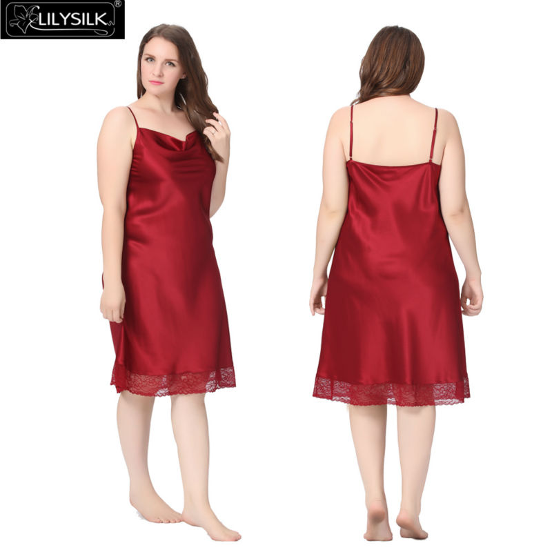 1000-claret-22-momme-lacey-hem-mid-length-silk-nightgown-plus-size-01