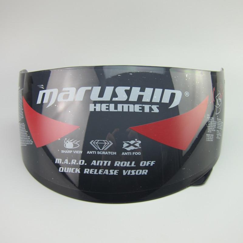 46835b40 Marushin Anti Fog Lens Shield Visor Full Face Marushin 111 222 778 999 888  RS2 779 Motorcycle Helmet Transparent Clear Black