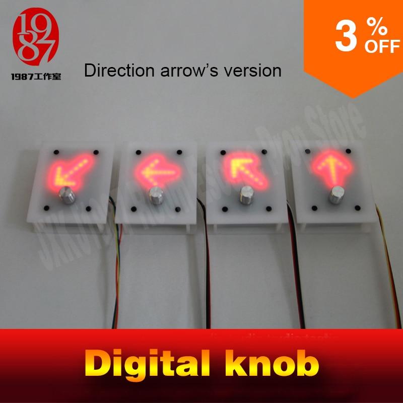 Room Escape Prop Chamber Room Digital Knob Panel Display Right  Direction Arrow's To Unlock Real Life Takagism Game Jxkj1987