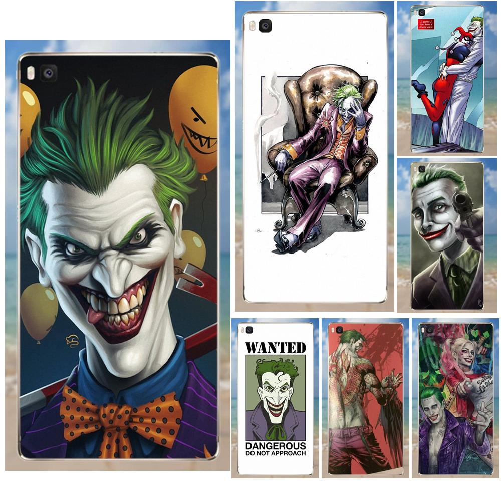 For Huawei G7 G8 Honor 5A 5C 5X <font><b>6</b></font> 6X 7 8 V8 Mate 8 <font><b>9</b></font> P7 P8 P9 P10 Lite Plus Soft TPU Design Customized Wizyakuza Joker <font><b>Knife</b></font> image