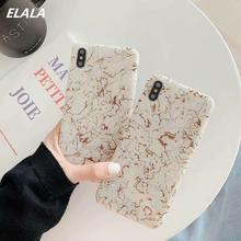 Laser Glossy Marble Case For iPhone X XR Xs Max Case Silicone Pattern Soft TPU Fresh Funny Cover For iPhone 7 8 6 Plus X S Cases fresh flower pattern pu leather cover case w view window for iphone 6 purple