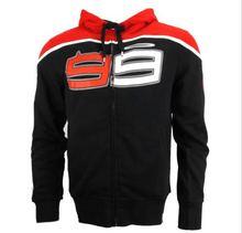 2016 Jorge Lorenzo 99 Moto GP Black Hoodie Sport Racing Sweatshirt