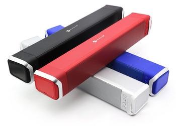 NR-2017 Powerful Bluetooth Speaker for Phone Handsfree Aux-In USB TF FM Radio Wireless Speaker with Mic Soundbar for xiaomi TV
