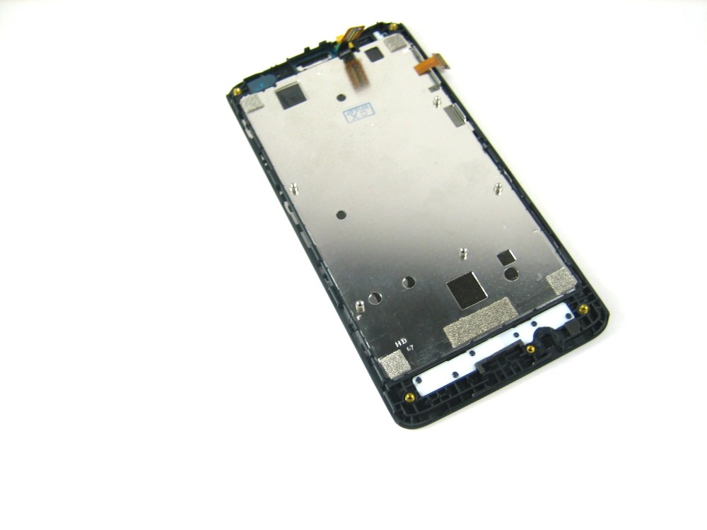 Replacement Full LCD Display + Touch Screen Digitizer + Frame for Huawei Ascend Y530 Black replacement original touch screen lcd display assembly framefor huawei ascend p7 freeshipping