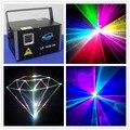 3000MW Mini Iluminación láser para escenario Luz de escenario de Fiesta de DJ para el proyector de luces de baile de discoteca