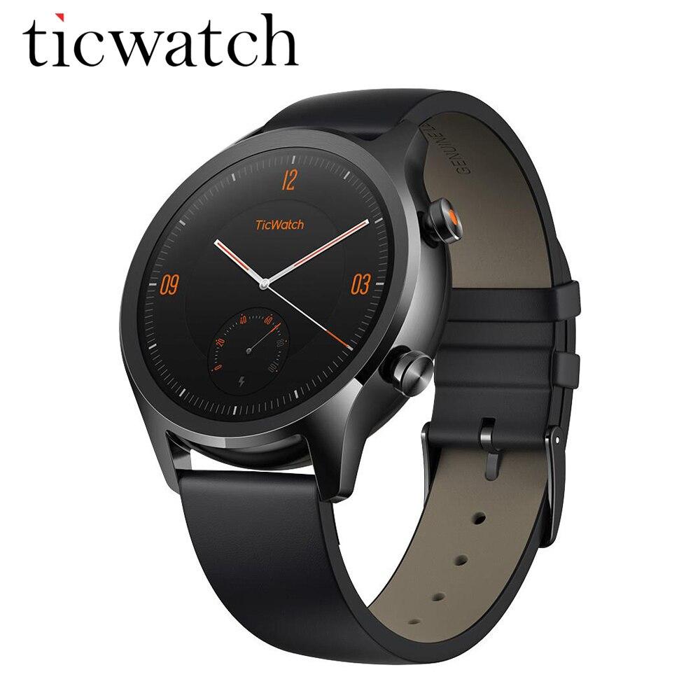 Original Global Ticwatch C2 Android wear NFC Google Pay GPS Smart Watch IP68 Waterproof AMOLED