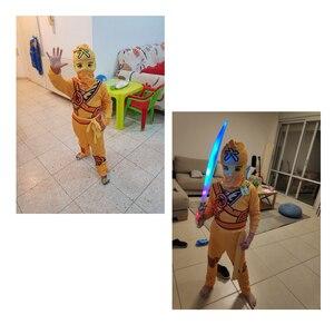 Image 5 - Ninjago 코스프레 의상 소년 의류 세트 어린이 의류 할로윈 멋진 파티 의류 닌자 슈퍼 히어로 정장 소년의 선물