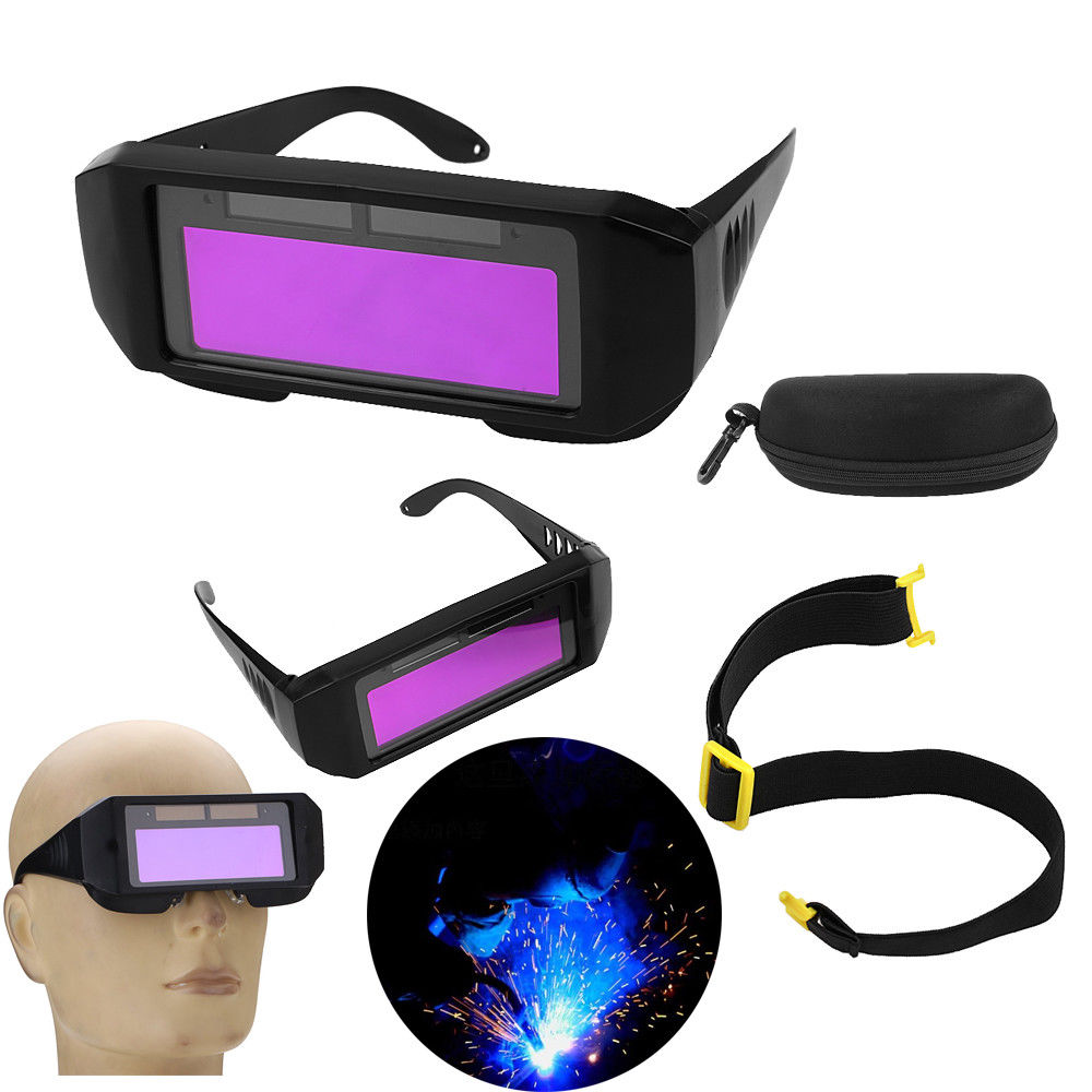 0c2808e1 Aliexpress.com : Buy 1 Pair Solar Auto Darkening Welding Goggle, Safety  Protective Welding Glasses Mask Helmet, Eyes Goggles Solar Powered Auto  from ...