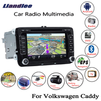 Liandlee For Volkswagen VW Caddy 2004~2013 Android Car Radio CD DVD Player GPS Navi Navigation Maps Camera OBD TV Screen Media