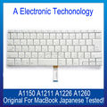 "Original A1150 A1211 A1226 A1260 Laptop Japanese Version Keyboard For Macbook Pro Retina 15"" 15.4"" Replacement Tested"