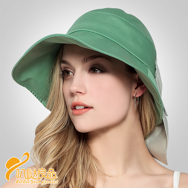 2016 New Lady Bucket Hat Bucket Hats men cotton hat bob bald pescador hip  hop summer 268d2459dcbf