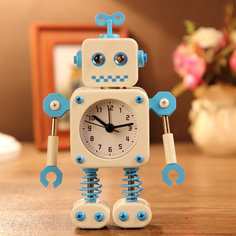 #a עיוות של אזעקה רובוט יצירתי קטן שעון - עיצוב לבית