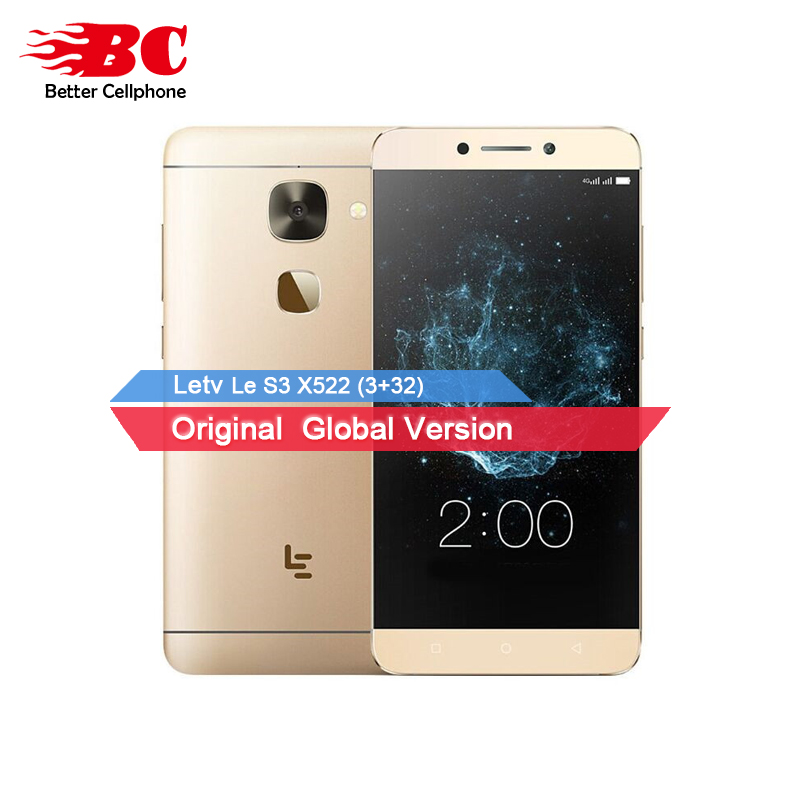 NEW LeTV LeEco Le 2 x522 Snapdragon 652 Octa Core 1.8GHz 3+32GB Android 6.0 5.5 Inch 1920*1080 3000mAh LTE Smart Phone LTE 16.MP