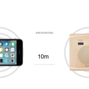 Image 4 - JINSERTA Bluetooth Speaker Smart Socket Mount HiFi Music Player Handfree 110 230V&5V 2.1A USB Charging Port