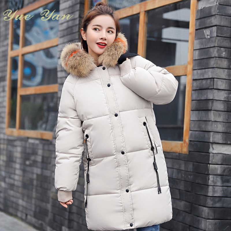 47d5a37d4bbdd fashion design women coat chateau down parka goose canada girls winter coat  long thick warm parka raccoon fur hood parka