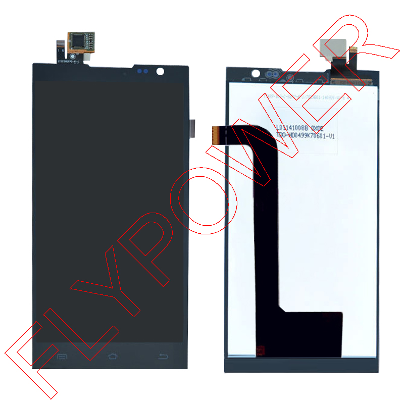 For JIAYU F2 JY-F2 LCD Screen Display With Black Touch Screen Digitizer Assembly by free shipping; 100% warranty 100% tested new lcd screen for jiayu s1 lcd display digitizer touch screen assembly black free shipping