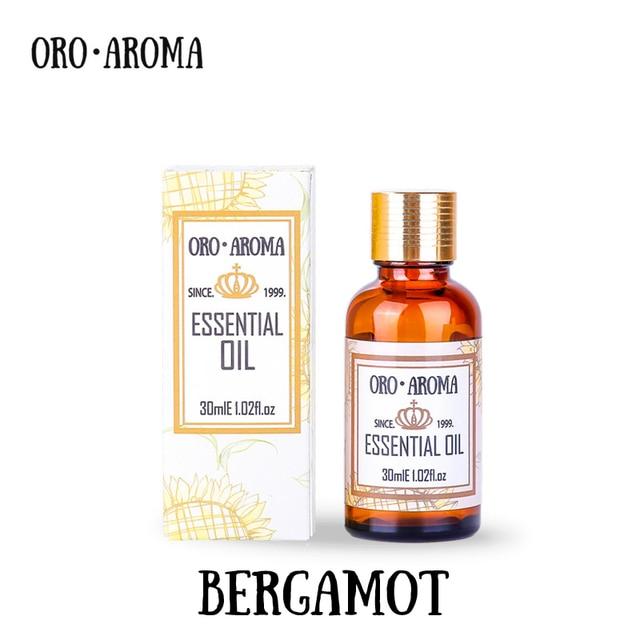 Famous brand oroaroma natural bergamot essential oil Antibacterial - essential oil for psoriasis