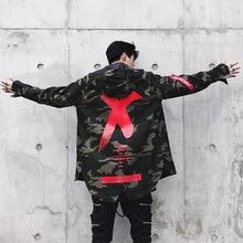 Mens Jacket High Street Camouflage X Printed
