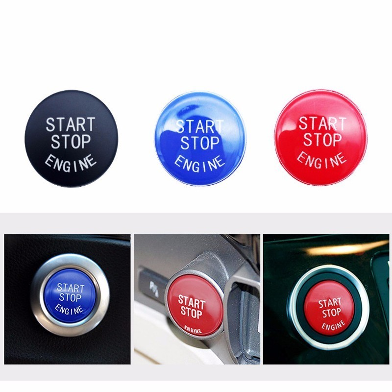 OHANEE Car Engine Start Stop Switch Button Replace Cover