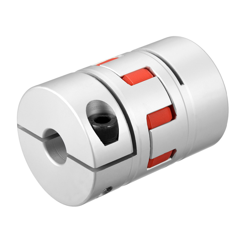 UXCELL New Arrival 1PCS L78xD55 Servo Stepped Motor M8 16mm to 16mm Shaft Coupling Bore Flexible Coupler Joint Wear Resistant uxcell hot sale 1pcs l55xd40 servo stepped motor m6 12mm to 19mm shaft coupling bore flexible coupler joint wear resistant