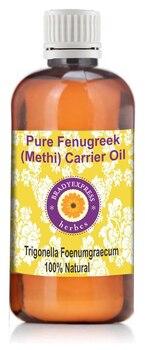 FRee Shipping Pure Fenugreek(Methi) Carrier oil (Trigonella foenumgraecum)100% Therapeutic Gra  5ML недорого