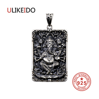 Pure 925 Sterling Silver Jewelry Charms Punk Pendants For Men And Women Thai Silver Necklace Chain