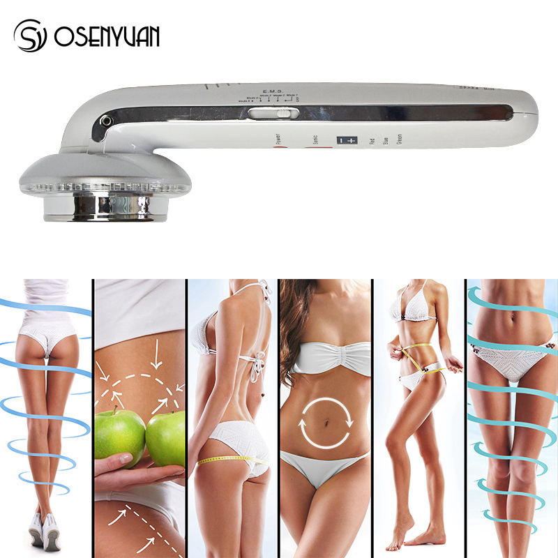 7in1 Ultrasoinc EMS Cavitation Machine Slimming Massager Anti Cellulite Beauty Photon LED Ultrasound Therapy Weight Loss Body