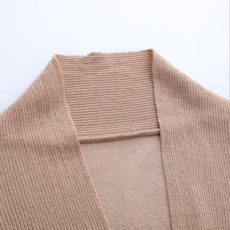 blue Blue Solid Loose Sweater Cardigan Color Hemp Autumn Cashmere Women Female dark Ice Without black Thin White Button B116 red coffee pink ET1xCwq