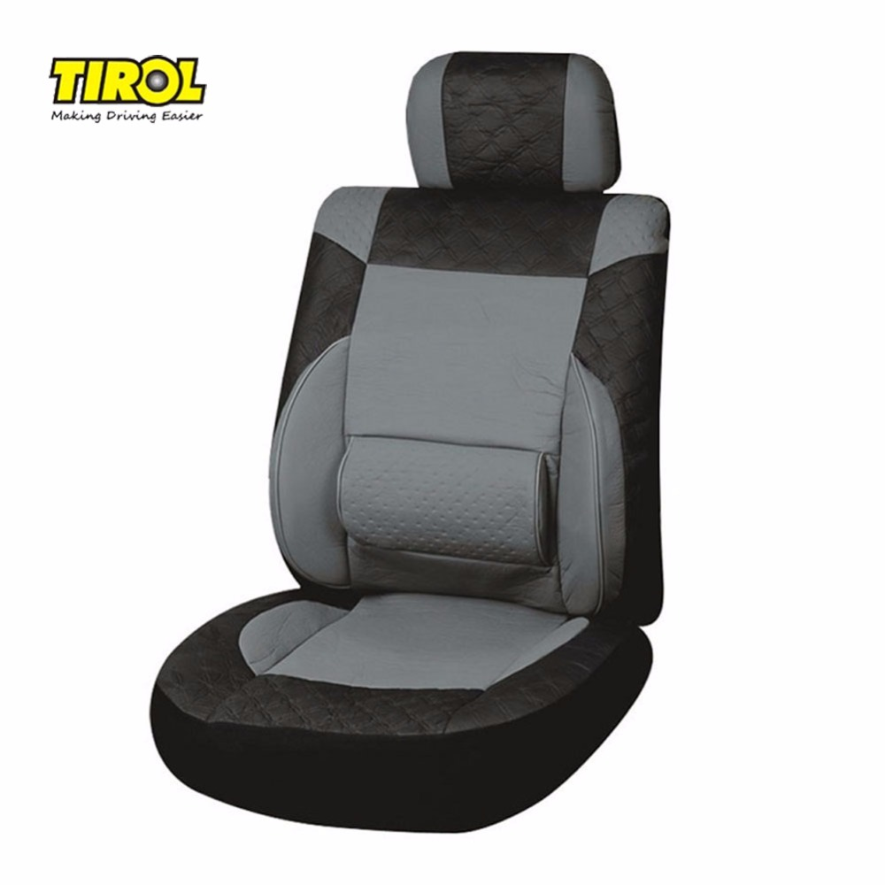 TIROL Car-Seat-Covers Fit Waist-Support Universal Auto Most Front