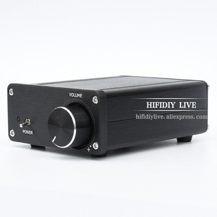 HIFIDIY LIVE 2.0 mini Audio TDA7498 digital power amplifier 100W*2 dual channel D2.0 tiancoolkei mini tda7498 200w ultra high power hifi audio digital power amplifier 100w 100w home audio video amplifiers black