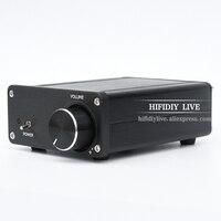 HIFIDIY LIVE 2.0 mini Audio TDA7498 digital power amplifier 100W*2 dual channel D2.0