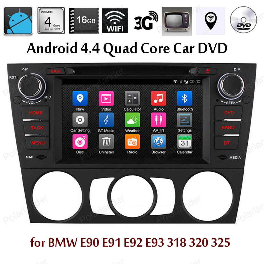 Android4 4 Car DVD Quad Core Support TV font b TPMS b font DAB BT 3G