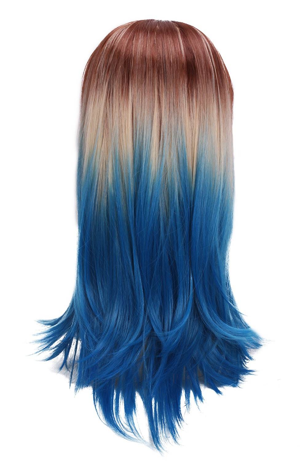 Ombre Hair Blue And Brown Www Imgkid Com The Image Kid