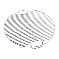 Stainless Steel Cooking Kitchen Camping Barbecue Mesh Heavy Duty Non toxic Non Stick Portable Tool Outdoor Round Home
