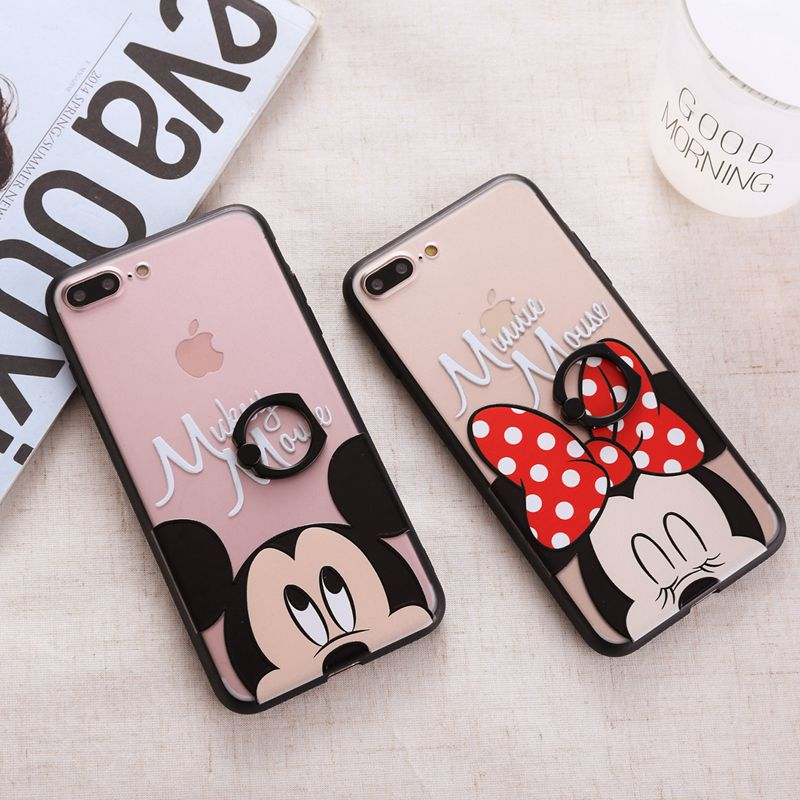 Don T Touch My Phone Wallpaper Girl Cute Cartoon Phone Case For Iphone 7 7 Plus 6 6s Plus