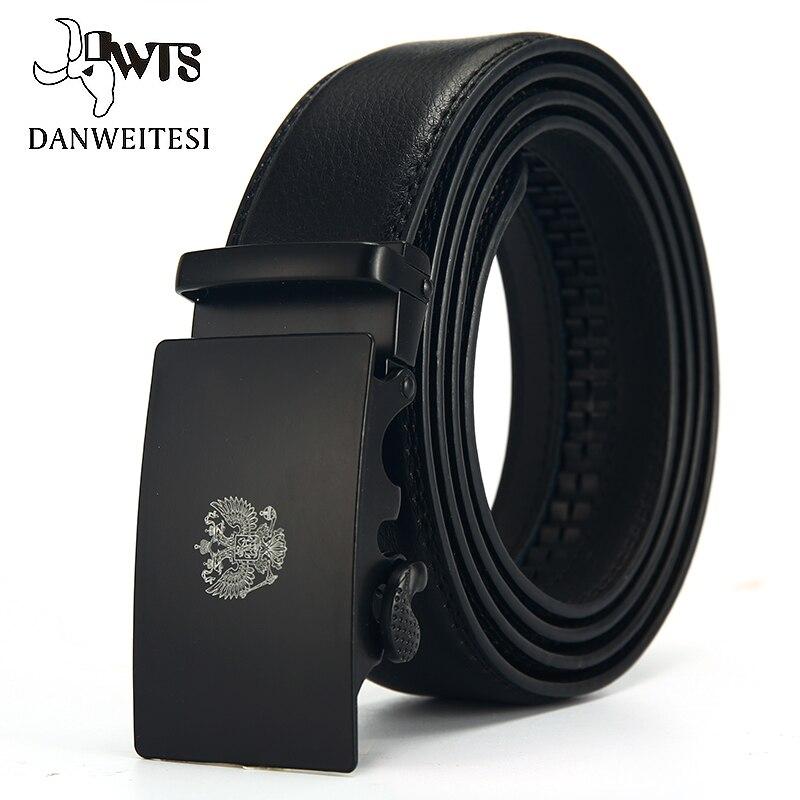 [DWTS]Fashion Designers Men Automatic Buckle Leather luxury Belts Business Male Alloy buckle Belts for Men Ceinture Homme