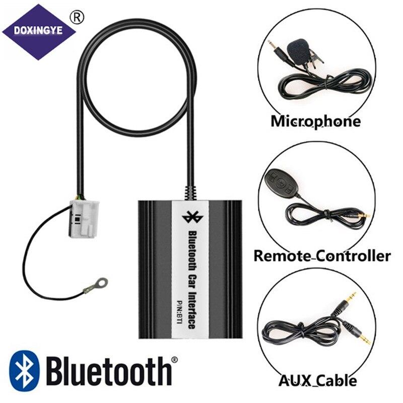 DOXINGYE, Voiture Aux USB Bluetooth Mp3 Musique Adaptateur Changeur CD Adaptateur Pour 12Pin Interface VW Audi Seat Skoda Quadlock