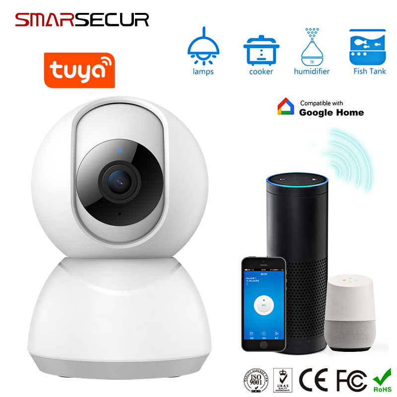 1080P Home Security WIFI IP Camera Two Way Audio Wireless Mini Camera Night Vision